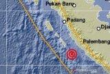 Gempa bumi magnitudo 5,7 di Bengkulu akibat aktivitas subduksi