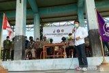 Pramuka bakti sosial bantu korban banjir di Sigi