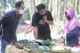 Pasar Tradisi Lembah Merapi Bukit Gununggono beroperasi kembali