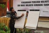 Pendaftaran calon kepala daerah Kota Semarang dialihkan ke Hotel Patra Jasa