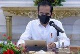 Presiden Jokowi mengemukakan pentingnya kekompakan dalam mengatasi COVID-19