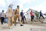 Gubernur Sulsel kembali tinjau kondisi terkini korban banjir di Luwu Utara