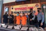 Polisi  ungkap kasus pencurian ratusan cap batik