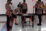 Kapolres Sangihe pimpin upacara serah terima tujuh pejabat Polres