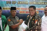 Deklarasi Koperasi Darul Hasyimi dan silaturahim GP Ansor Gunung Kidul guyub