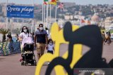 Kasus COVID-19 di Prancis  melonjak lagi