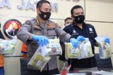 Polda Jatim bongkar 8,4 kilogram sabu-sabu jaringan Malaysia