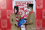 Bupati Pati Haryanto terima Lencana Melati Gerakan Pramuka