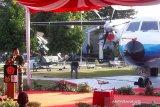 Panglima TNI meresmikan Monumen Pesawat N250 di Muspusdirla Yogyakarta