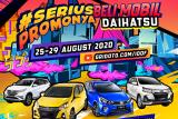 Daihatsu 'unboxing' New Ayla dan New Sirion di IOOF