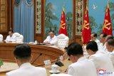 Kim Jong Un minta pejabat antisipasi virus corona dan topan