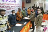 KPU larang kandidat pilkada bawa massa saat mendaftar