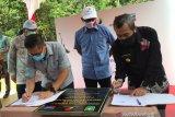 SKK Migas - PT CPI hibahkan jembatan Takuana penghubung Tahura Minas