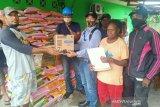 Freeport salurkan bantuan bahan makanan 9 kampung di Mimika