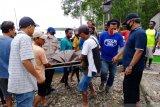 Perahu motor tenggelam, seorang warga di Mimika meninggal dunia