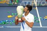 Novak Djokovic juarai Western & Southern setelah taklukkan Raonic
