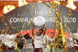 Arsenal meraih  trofi Community Shield usai bekuk Liverpool