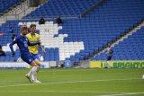 Timo Werner cetak gol perdana saat Chelsea vs Brighton