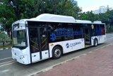 Uji coba bus listrik di Jakarta patut diapresiasi