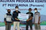 PT Pertamina MOR VIII salurkan bantuan kepada 54 mitra binaan di Papua