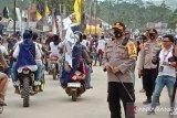Polres Kolaka siagakan 164 personell amankan deklarasi pasangan Tony - Baharuddin