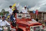 Ribuan simpatisan Tony - Baharuddin hadiri deklarasi calon Bupati