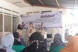 Relawan demokrasi KPU Kota Makassar sosialisasi di kampung kusta