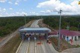PUPR:  Jalan Tol Trans Sumatera yang telah beroperasi sepanjang 648 kilometer