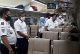 KA Kuala Stabas wajib disemprot disinfektan sebelum diberangkatkan