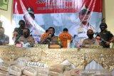 Polisi sita 200 kg ganja kering dari Aceh