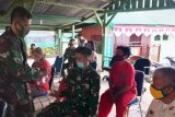 Kapendam XVII/Cenderawasih bagikan masker dan vitamin ke anggota Pendam