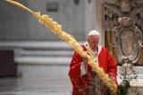 Paus Fransiskus desak negara-negara hormati kesepakatan iklim Paris 2015