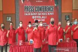 Said-Irawan terapkan protokol kesehatan ketika daftar sebagai peserta Pilbup Boyolali