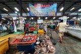 Pedagang pasar tradisional di Kepri tidak mau  pakai masker