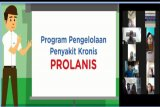Puluhan peserta Prolanis ikuti edukasi pola hidup sehat  daring