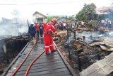 Tujuh rumah di Tarakan ludes terbakar