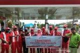 Pertamina menyalurkan Pertamax dan Pertalite di Kabupaten Muna
