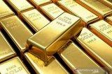 Emas berjangka anjlok, tertekan penguatan dolar AS dan kekhawatiran stimulus