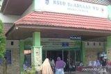Ketersediaan tempat tidur pasien COVID-19 di RSUD Adnaan WD menipis