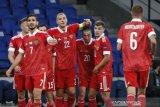 Rusia awali penampilan di Nations League dengan taklukkan Serbia 3-1
