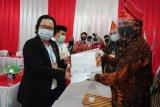 Pasangan 'Handal' daftar di KPU Morowali Utara