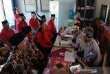 Pasangan Bambang Wisnu-Benyamin mendaftar ke KPU Gunung Kidul