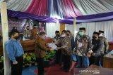 Bapaslon Sutrisna-Ardi mendaftar di KPU Gunung Kidul