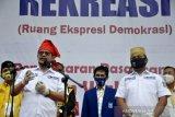 Irman Yasin Limpo-Andi Zunnun daftar calon Walikota Makassar