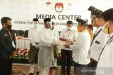 Pasangan CAMAR resmi mendaftar di KPU Rokan Hilir