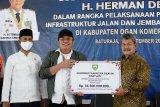 Gubernur Sumsel kucurkan bantuan  Rp81 miliar ke Kabupaten OKU