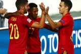 UEFA League Nations, Ansu Fati inspiratif saat Spanyol telan Ukraina 4-0