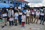Pengungsi luar negeri demo Rudenim Pekanbaru. Ini permintaanya