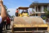 Gubernur Sumsel resmikan pembangunan jalan  di OKU