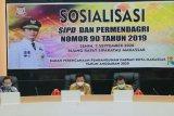 Pemerintah Kota Makassar sosialisasikan Permendagri Nomor 90 Tahun 2019